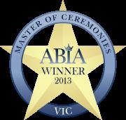 ABIA Winner – Master Of Ceremonies 2013
